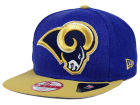 St. Louis Rams New Era NFL Logo Grand 9FIFTY Snapback Cap Adjustable Hats