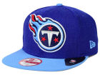Tennessee Titans New Era NFL Logo Grand 9FIFTY Snapback Cap Adjustable Hats