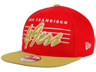 San Francisco 49ers New Era NFL Stripe Frontier 9FIFTY Snapback Cap Adjustable Hats