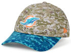 Miami Dolphins New Era NFL 2015 Women's Salute to Service 9TWENTY Cap Adjustable Hats