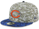 Chicago Bears New Era NFL 2015 Salute to Service 59FIFTY Cap Fitted Hats