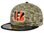 Cincinnati Bengals New Era NFL 2015 Salute to Service 59FIFTY Cap Fitted Hats