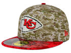 Kansas City Chiefs New Era NFL 2015 Salute to Service 59FIFTY Cap Fitted Hats