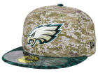 Philadelphia Eagles New Era NFL 2015 Salute to Service 59FIFTY Cap Fitted Hats