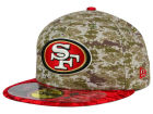 San Francisco 49ers New Era NFL 2015 Salute to Service 59FIFTY Cap Fitted Hats