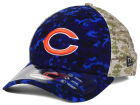 Chicago Bears New Era NFL 2015 Salute to Service 39THIRTY Cap Stretch Fitted Hats
