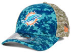 Miami Dolphins New Era NFL 2015 Salute to Service 39THIRTY Cap Stretch Fitted Hats