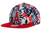 Los Angeles Angels of Anaheim New Era MLB Wowie 9FIFTY Snapback Cap Adjustable Hats