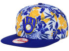 Milwaukee Brewers New Era MLB Wowie 9FIFTY Snapback Cap Adjustable Hats