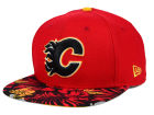 Calgary Flames New Era NHL Wowie 9FIFTY Snapback Cap Adjustable Hats