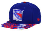 New York Rangers New Era NHL Wowie 9FIFTY Snapback Cap Adjustable Hats