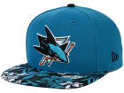 San Jose Sharks New Era NHL Wowie 9FIFTY Snapback Cap Adjustable Hats