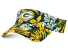 Green Bay Packers New Era NFL Wowie Visor Adjustable Hats
