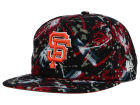San Francisco Giants New Era MLB Glow Speck A-Frame Original Fit 9FIFTY Snapback Cap Adjustable Hats