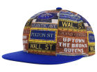 New York Knicks Mitchell and Ness NBA Localized Snapback Pack Cap Adjustable Hats