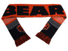 Chicago Bears Forever Collectibles Acrylic Knit Scarf Reversible Split Logo Apparel & Accessories