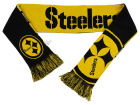 Pittsburgh Steelers Forever Collectibles Acrylic Knit Scarf Reversible Split Logo Apparel & Accessories