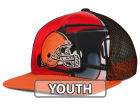 Cleveland Browns Outerstuff NFL Youth Stealth Snapback Cap Adjustable Hats