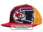 Kansas City Chiefs Outerstuff NFL Youth Stealth Snapback Cap Adjustable Hats