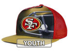San Francisco 49ers Outerstuff NFL Youth Stealth Snapback Cap Adjustable Hats