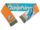 Miami Dolphins Forever Collectibles Acrylic Knit Scarf Reversible Split Logo Apparel & Accessories