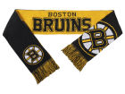Boston Bruins Forever Collectibles Acrylic Knit Scarf Reversible Split Logo Apparel & Accessories
