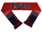 Cleveland Indians Forever Collectibles Acrylic Knit Scarf Reversible Split Logo Apparel & Accessories