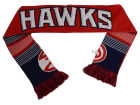 Atlanta Hawks Forever Collectibles Acrylic Knit Scarf Reversible Split Logo Apparel & Accessories
