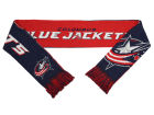Columbus Blue Jackets Forever Collectibles Acrylic Knit Scarf Reversible Split Logo Apparel & Accessories
