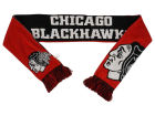 Chicago Blackhawks Forever Collectibles Acrylic Knit Scarf Reversible Split Logo Apparel & Accessories