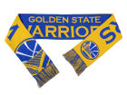 Golden State Warriors Forever Collectibles Acrylic Knit Scarf Reversible Split Logo Apparel & Accessories