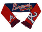 Atlanta Braves Forever Collectibles Acrylic Knit Scarf Reversible Split Logo Apparel & Accessories
