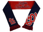 St. Louis Cardinals Forever Collectibles Acrylic Knit Scarf Reversible Split Logo Apparel & Accessories