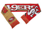 San Francisco 49ers Forever Collectibles Acrylic Knit Scarf Reversible Split Logo Apparel & Accessories