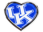 Kentucky Wildcats Heart Metal Auto Emblem Auto Accessories