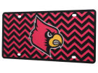 Louisville Cardinals Chevron Laser Tag Auto Accessories