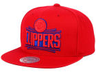 Los Angeles Clippers Mitchell and Ness NBA Undeterred Snapback Cap Adjustable Hats