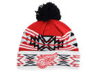 Detroit Red Wings NHL 2015 Geotech Pom Knit Hats