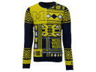 Michigan Wolverines Forever Collectibles NCAA Men's Patches Ugly Sweater Fleece