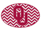 Oklahoma Sooners 5x7 Chevron Decal Bumper Stickers & Decals