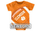 Clemson Tigers Outerstuff NCAA Newborn Football Fanatic Creeper Infant Apparel