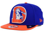 Denver Broncos New Era NFL Wool Classic XL Logo 9FIFTY Snapback Cap Adjustable Hats