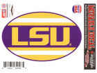 LSU Tigers 5x7 Super Stripe Decal Bumper Stickers & Decals