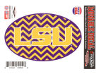 LSU Tigers 5x7 Chevron Decal Bumper Stickers & Decals