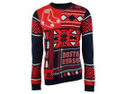 Boston Red Sox Forever Collectibles MLB Men's Patches Ugly Sweater Sweatshirts
