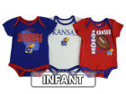 Kansas Jayhawks Outerstuff NCAA Newborn 3 Point Spread Set Outfits