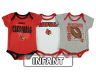 Louisville Cardinals Outerstuff NCAA Newborn 3 Point Spread Set Outfits
