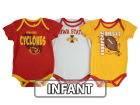 Iowa State Cyclones Outerstuff NCAA Infant 3 Point Spread Set Infant Apparel