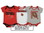 Louisville Cardinals Outerstuff NCAA Infant 3 Point Spread Set Infant Apparel