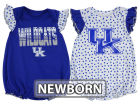 Kentucky Wildcats Outerstuff NCAA Newborn Girls Polka Fan Set Outfits